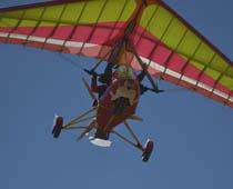 vuelo a motor