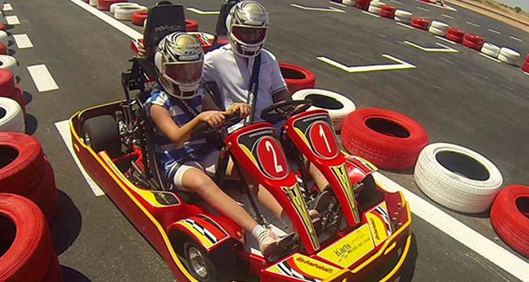 multiaventura - circuito de karting